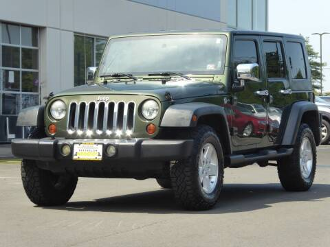 2008 Jeep Wrangler Unlimited for sale at Loudoun Motor Cars in Chantilly VA