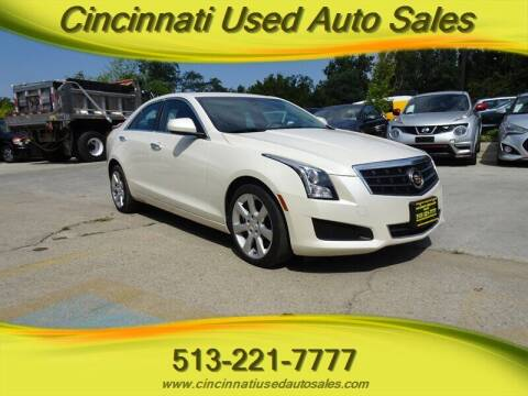 2014 Cadillac ATS for sale at Cincinnati Used Auto Sales in Cincinnati OH