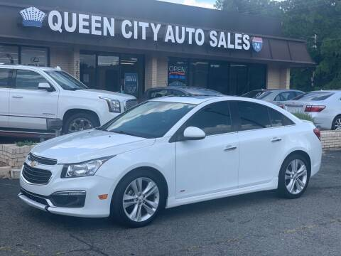 2015 Chevrolet Cruze for sale at Queen City Auto Sales in Charlotte NC