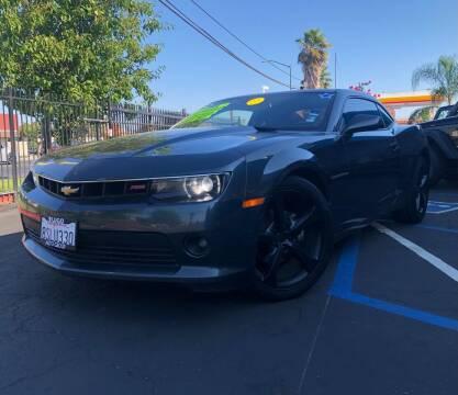 2015 Chevrolet Camaro for sale at LUGO AUTO GROUP in Sacramento CA