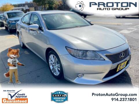 2013 Lexus ES 350 for sale at Proton Auto Group in Yonkers NY