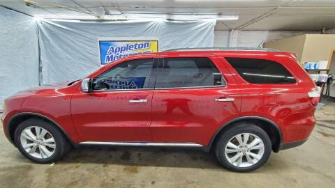 2011 Dodge Durango for sale at Appleton Motorcars Sales & Service in Appleton WI