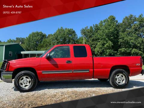 2003 Chevrolet Silverado 1500 for sale at Steve's Auto Sales in Harrison AR
