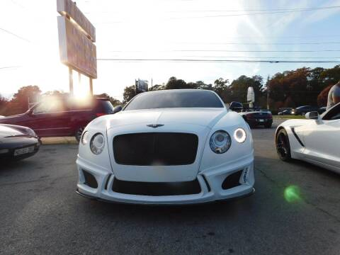 2012 Bentley Continental for sale at Atlanta Fine Cars in Jonesboro GA
