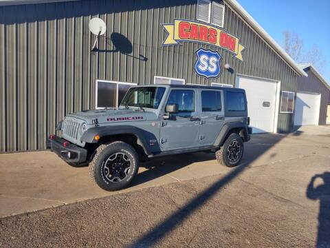 2013 Jeep Wrangler Unlimited for sale at CARS ON SS in Rice Lake WI