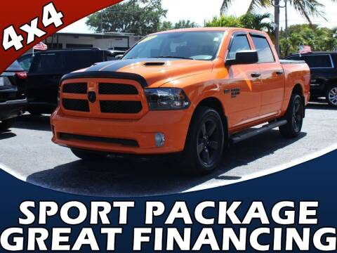 2019 RAM Ram Pickup 1500 Classic for sale at Palm Beach Auto Wholesale in Lake Park FL