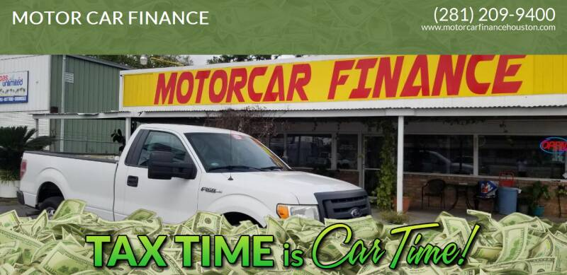 2012 Ford F-150 for sale at MOTOR CAR FINANCE in Houston TX