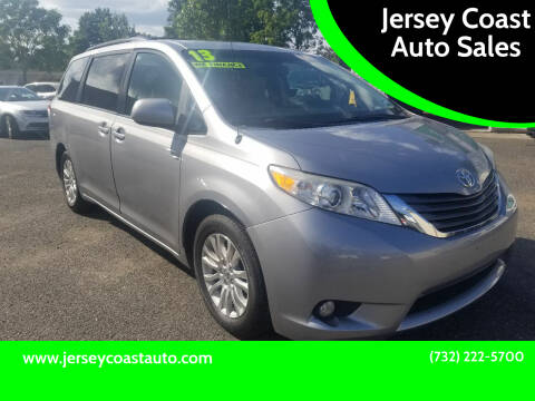 2013 Toyota Sienna for sale at Jersey Coast Auto Sales in Long Branch NJ