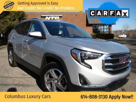 2019 GMC Terrain for sale at Columbus Luxury Cars in Columbus OH