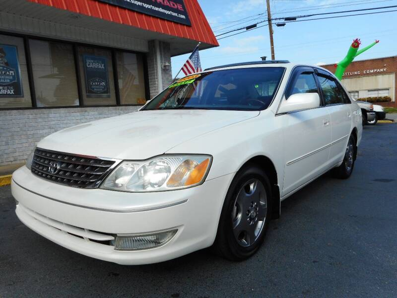 2003 Toyota Avalon for sale at Super Sports & Imports in Jonesville NC