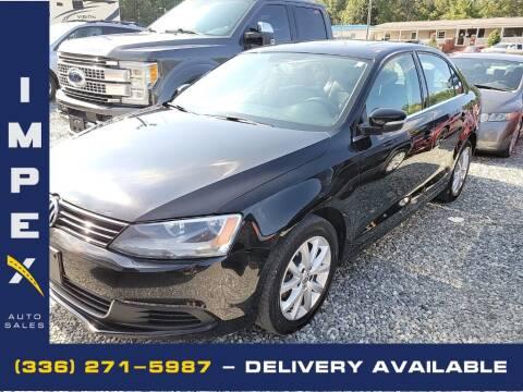 2013 Volkswagen Jetta for sale at Impex Auto Sales in Greensboro NC