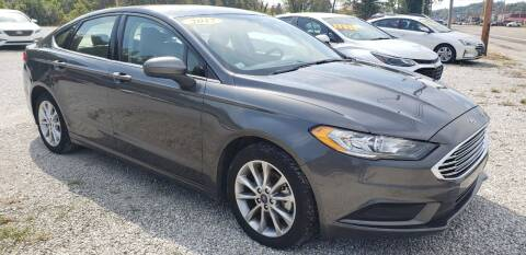 2017 Ford Fusion for sale at COOPER AUTO SALES in Oneida TN