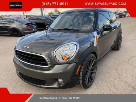 2014 MINI Paceman for sale at SOUTHWEST AUTO GROUP-EL PASO in El Paso TX