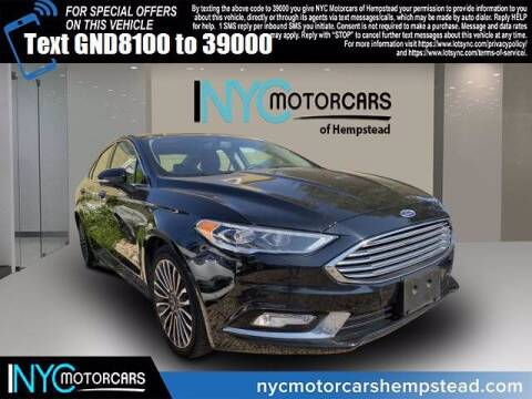 2017 Ford Fusion for sale at NYC Motorcars in Freeport NY