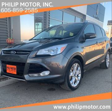 2016 Ford Escape for sale at Philip Motor Inc in Philip SD