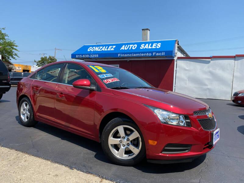 2013 Chevrolet Cruze for sale at Gonzalez Auto Sales in Joliet IL
