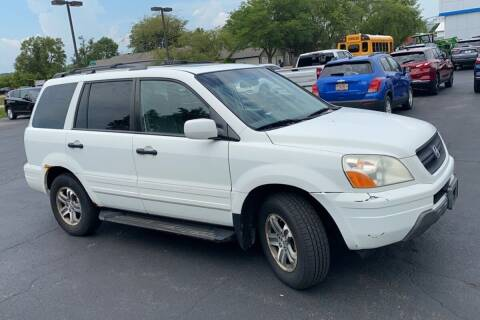 2005 Honda Pilot for sale at WEINLE MOTORSPORTS in Cleves OH