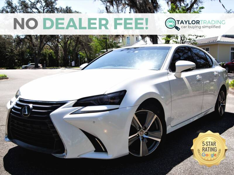2017 Lexus GS 350 for sale at Taylor Trading in Orange Park FL