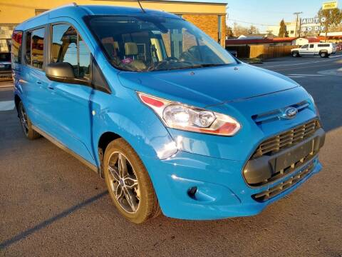 2018 Ford Transit Connect Wagon for sale at New Wave Auto Brokers & Sales in Denver CO