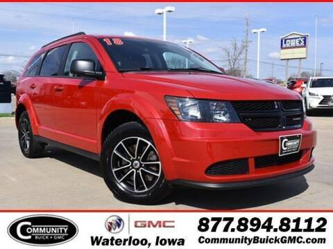 2018 Dodge Journey for sale at Community Buick GMC in Waterloo IA