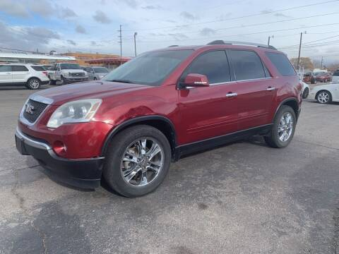 2011 GMC Acadia for sale at Robert B Gibson Auto Sales INC in Albuquerque NM