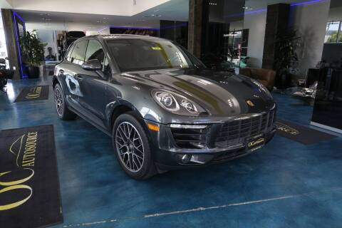 2018 Porsche Macan for sale at OC Autosource in Costa Mesa CA