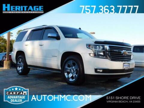 2015 Chevrolet Tahoe for sale at Heritage Motor Company in Virginia Beach VA
