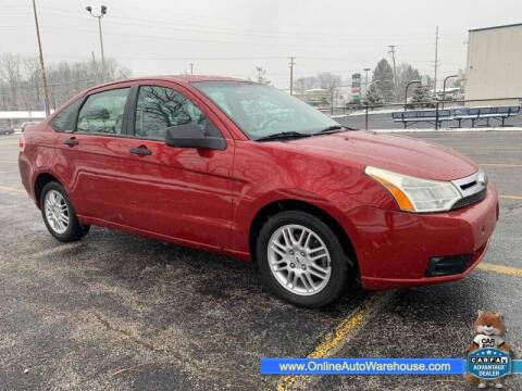 2010 Ford Focus for sale at IMPORTS AUTO GROUP in Akron OH