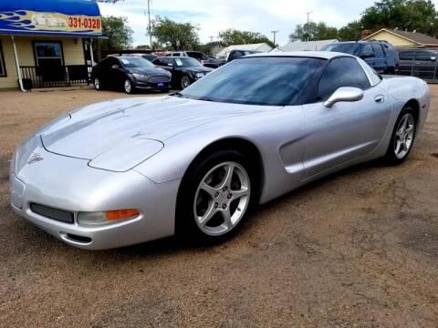 2003 Chevrolet Corvette for sale at California Auto Sales in Amarillo TX