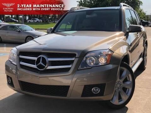 2010 Mercedes-Benz GLK for sale at European Motors Inc in Plano TX