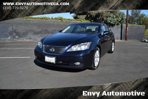 2009 Lexus ES 350 for sale at Envy Automotive in Studio City CA