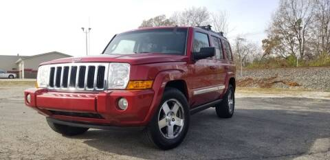 2010 Jeep Commander for sale at Sinclair Auto Inc. in Pendleton IN