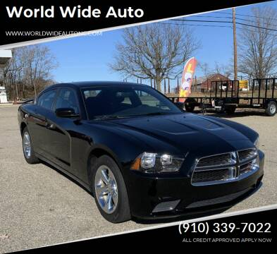 2014 Dodge Charger for sale at World Wide Auto in Fayetteville NC