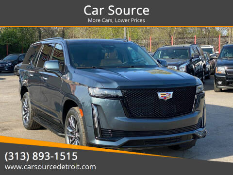 2021 Cadillac Escalade for sale at Car Source in Detroit MI
