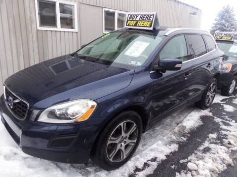 2013 Volvo XC60 for sale at Fulmer Auto Cycle Sales - Fulmer Auto Sales in Easton PA