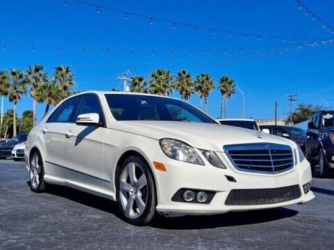 2010 Mercedes-Benz E-Class for sale at Select Autos Inc in Fort Pierce FL
