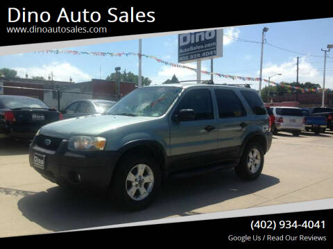 2006 Ford Escape for sale at Dino Auto Sales in Omaha NE