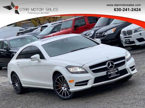 2014 Mercedes-Benz CLS for sale at Star Motor Sales in Downers Grove IL