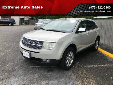 2007 Lincoln MKX for sale at Extreme Auto Sales in Bryan TX