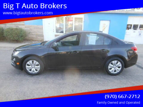 2015 Chevrolet Cruze for sale at Big T Auto Brokers in Loveland CO