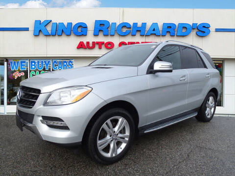 2015 Mercedes-Benz M-Class for sale at KING RICHARDS AUTO CENTER in East Providence RI