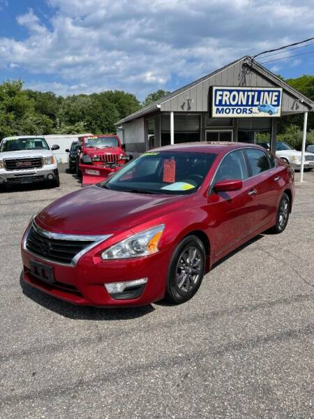 2015 Nissan Altima for sale at Frontline Motors Inc in Chicopee MA
