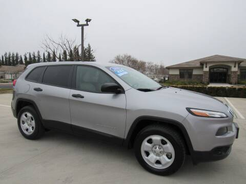 2016 Jeep Cherokee for sale at Repeat Auto Sales Inc. in Manteca CA
