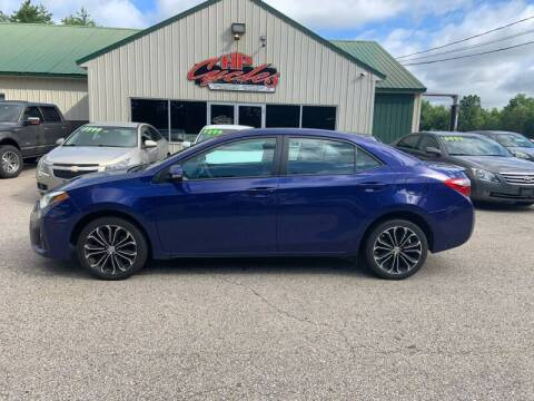 2015 Toyota Corolla for sale at HP AUTO SALES in Berwick ME