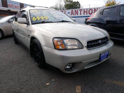 2004 Subaru Outback for sale at MICHAEL ANTHONY AUTO SALES in Plainfield NJ