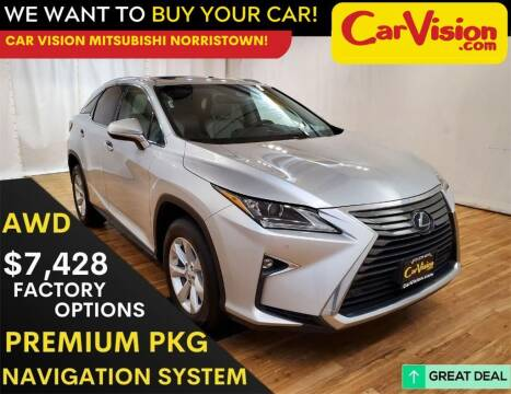 2017 Lexus RX 350 for sale at Car Vision Mitsubishi Norristown in Trooper PA