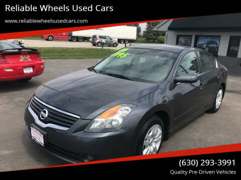 2009 Nissan Altima for sale at Reliable Wheels Used Cars in West Chicago IL