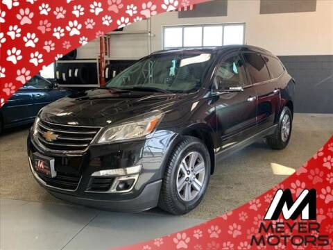 2015 Chevrolet Traverse for sale at Meyer Motors in Plymouth WI
