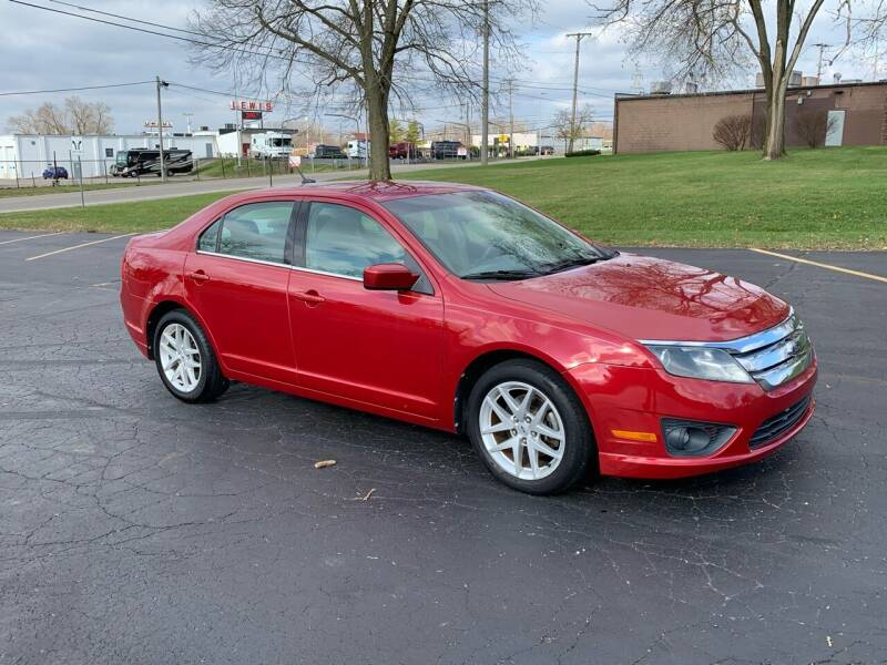 2010 Ford Fusion for sale at Dittmar Auto Dealer LLC in Dayton OH