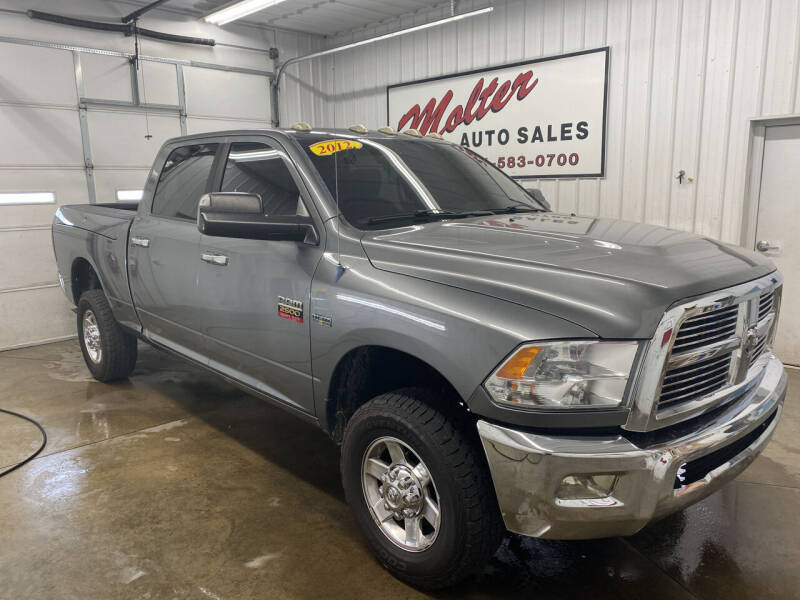 2012 RAM Ram Pickup 2500 for sale at MOLTER AUTO SALES in Monticello IN